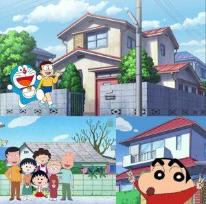 日本卡通人物的家值多少錢