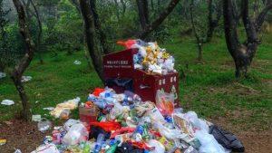 郊野公園垃圾有多嚴重