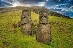 智利將立例禁車接近摩艾石像範圍。